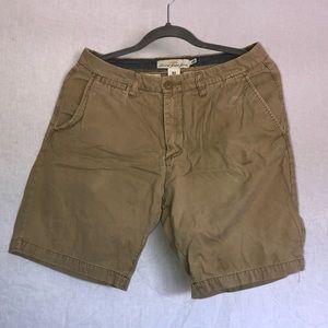 H&M Mens Khaki Shorts